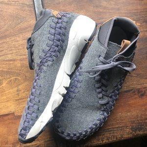 Nike Air Footscape woven chukka felt sneaker 10.5